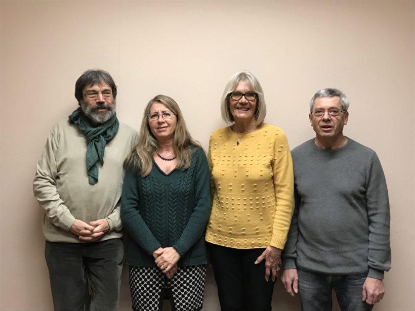 Photo des élus sortants et des élus rentrants au conseil municipal
