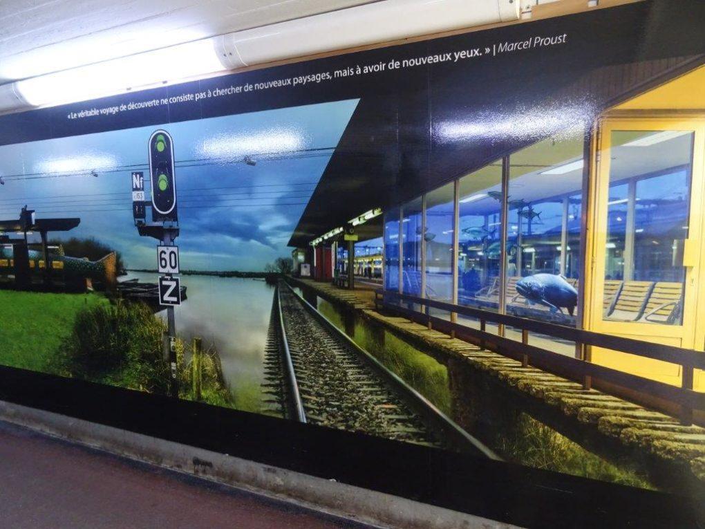 Gare de SPDC - Proust - 2020